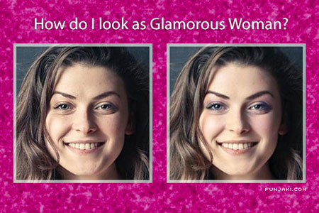 How will you look as a Glamorous Woman?