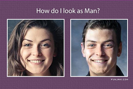 How will you look as Male?