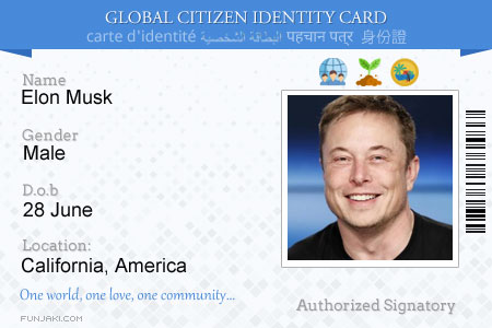 – Citizen Online com Card Generator Funjaki Global Id